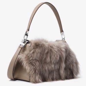 Michael Kors Fox Fur Miranda handle/shoulder Bag
